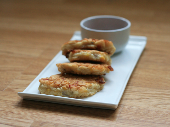 Sweetcorn Fritters – Saturday Quick Lunch