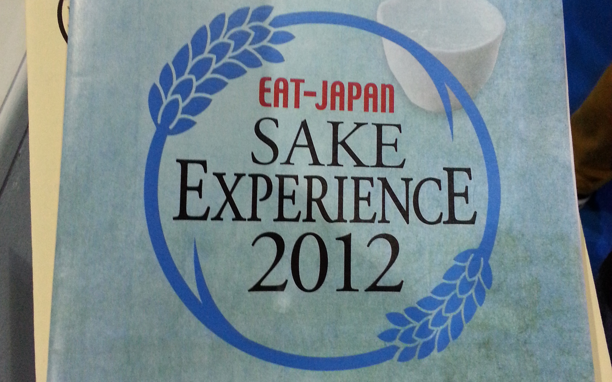 The Sake Experience at Hyper Japan 2012