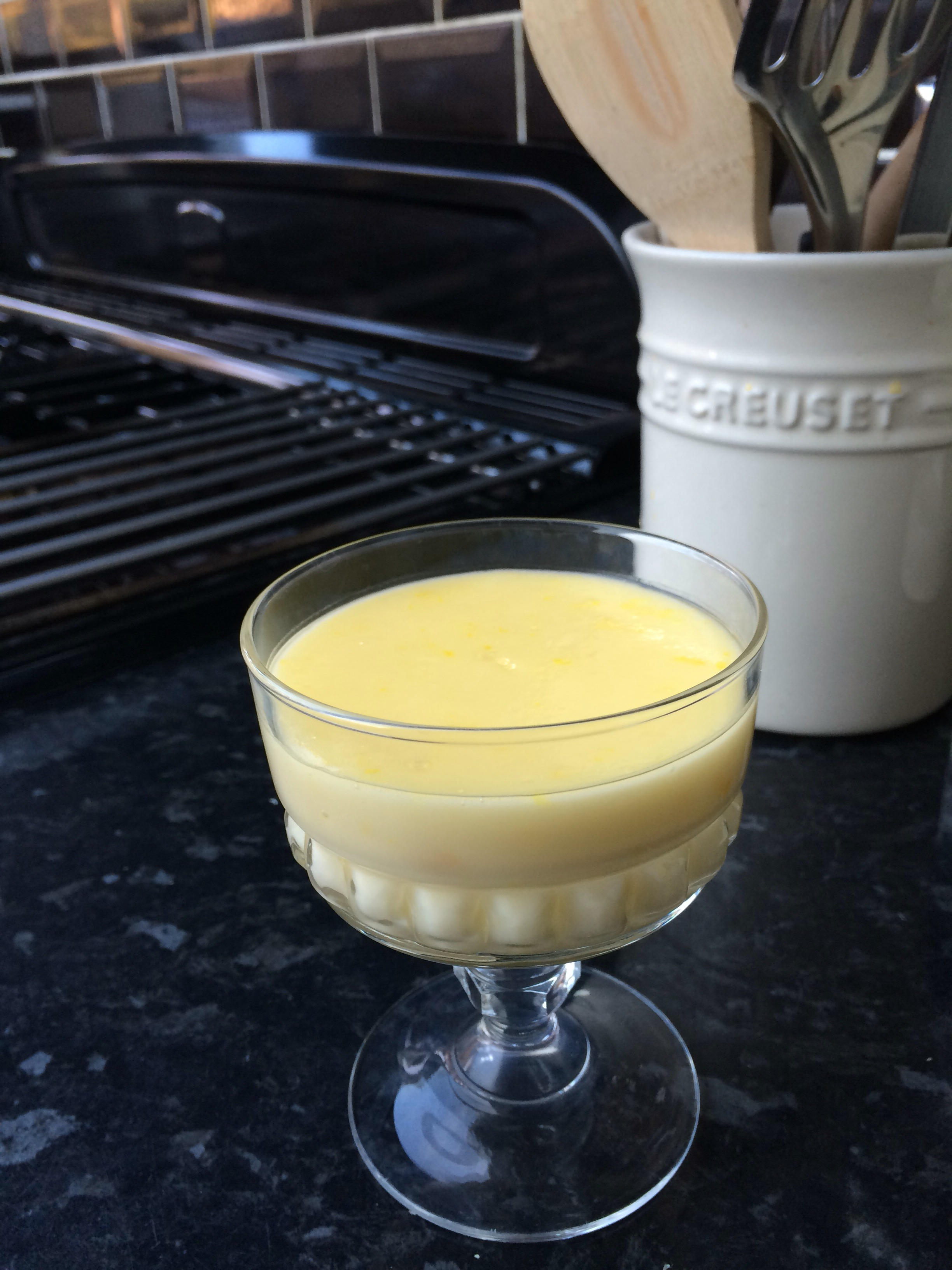 Lemon posset – a medieval drink