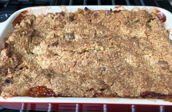 Crumble done