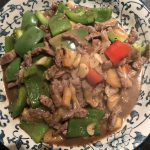 beef and pineapple stir fry